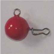 VMC Schnellwechselblei exzentrisch, rot, 5 Stück