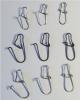 ROSCO Duo-Lock-Snap Karabiner, rostfrei, 25 Stück, Größe 1, schwarz