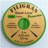 Leitner Filigran Steel-Line, 7X7, braun, 5 m Spule
