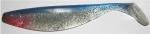 Xtra Soft 23 cm, farblos-transparent-glitter-blau