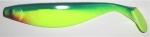 Xtra Soft 23 cm, neongelb-dunkelgrün