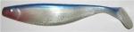 Xtra Soft 23 cm, perlweiß-glitter-blau