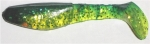 Kopyto, 8 cm, chartreuse-transparent-glitter-grün