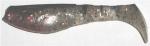 Kopyto, 8 cm, schmuddel-transparentglitter-schwarz