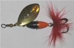 Myran Wipp, rot/schwarz, 5 Gramm, Gold