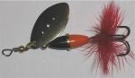 Myran Wipp, rot/schwarz, 5 Gramm, Silber